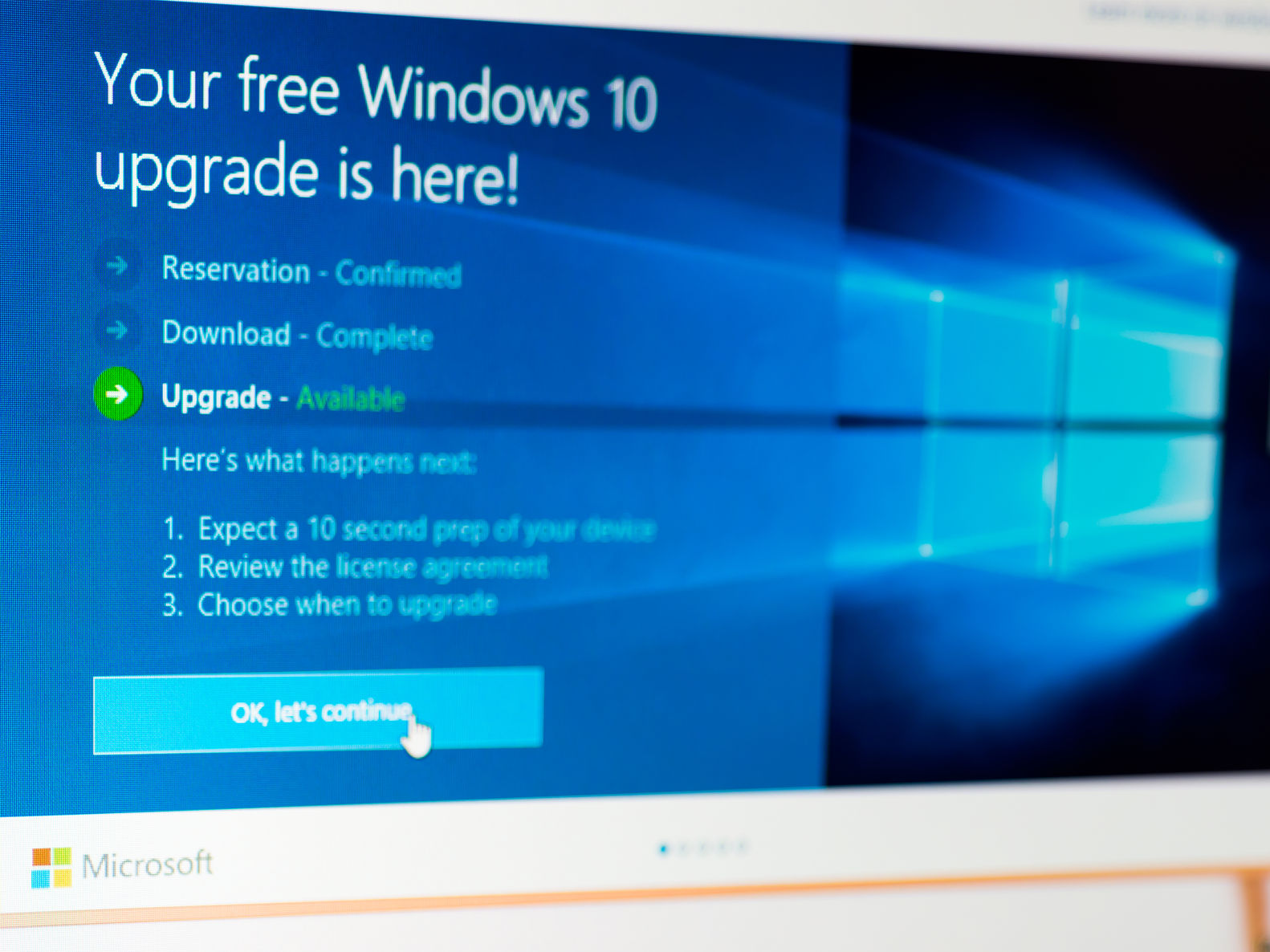 Microsoft Windows 10 Upgrade