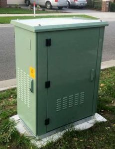 NBN Southern Highlands Node Box FTTN